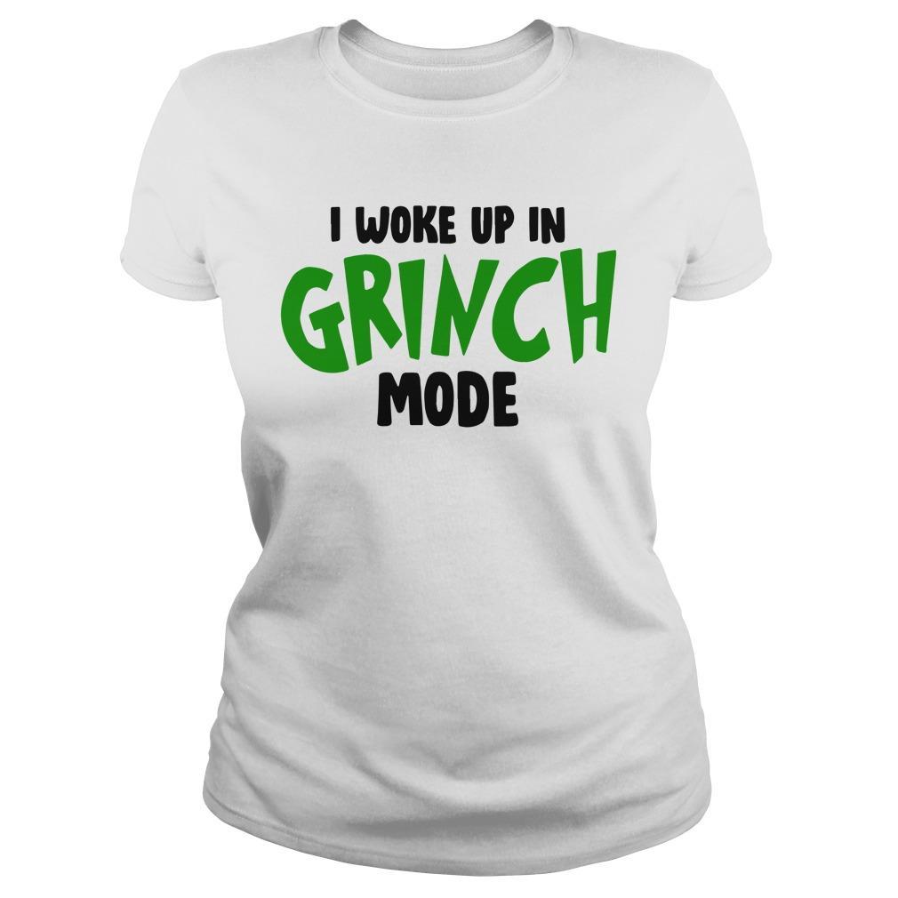 I Woke Up In Grinch Mode Longsleeve