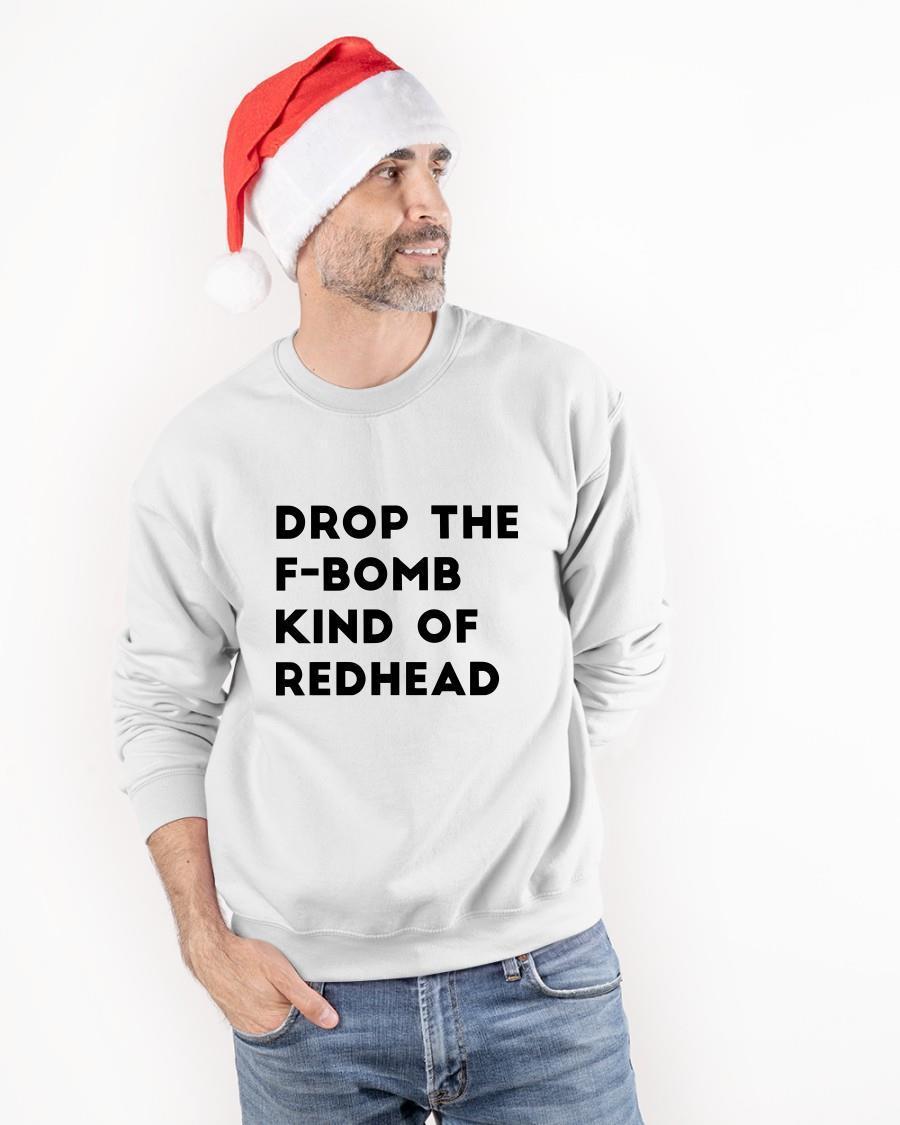 I'm Drop The F Bomb Kind Of Redhead Sweater