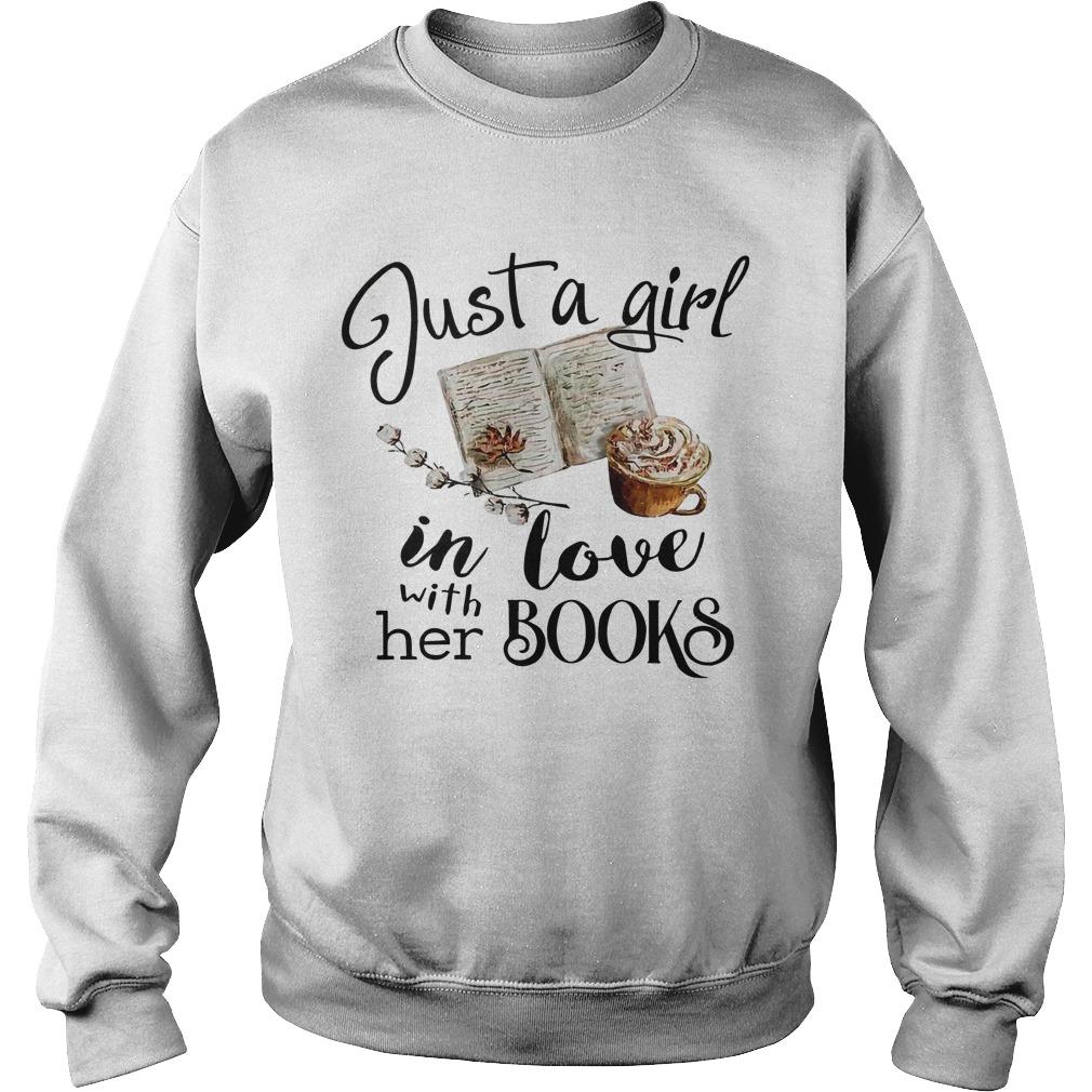 Just A Girl In Love With Her Books Sweater