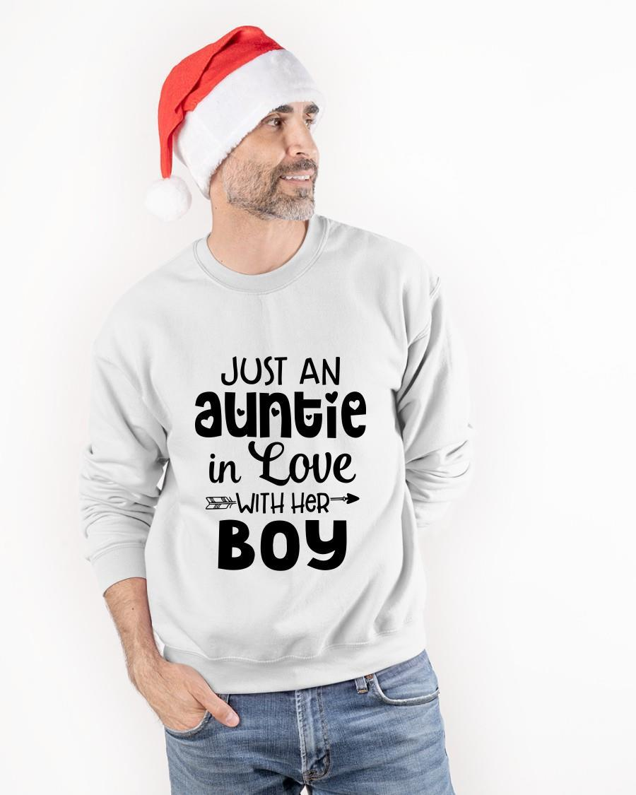 Just An Auntie In Love With Her Boy Sweater