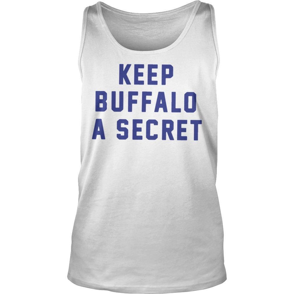 Keep Buffalo A Secret Tank Top