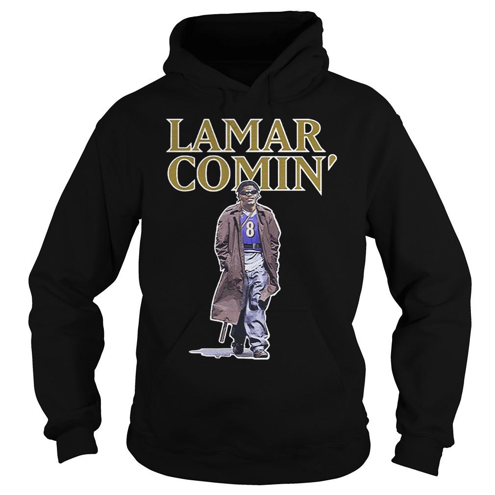 Lamar Comin' Hoodie