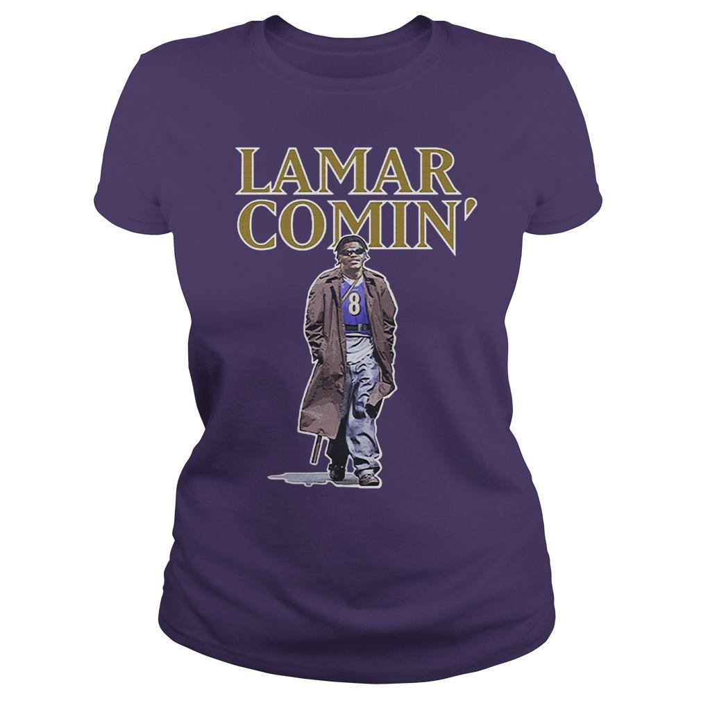 Lamar Comin' Longsleeve