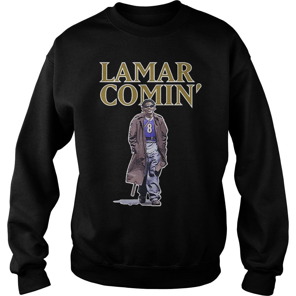 Lamar Comin' Sweater