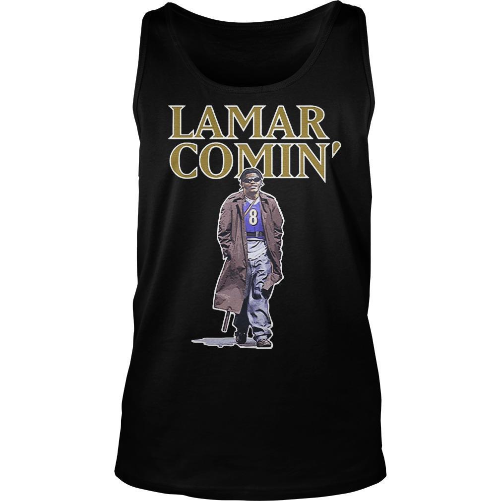 Lamar Comin' Tank Top