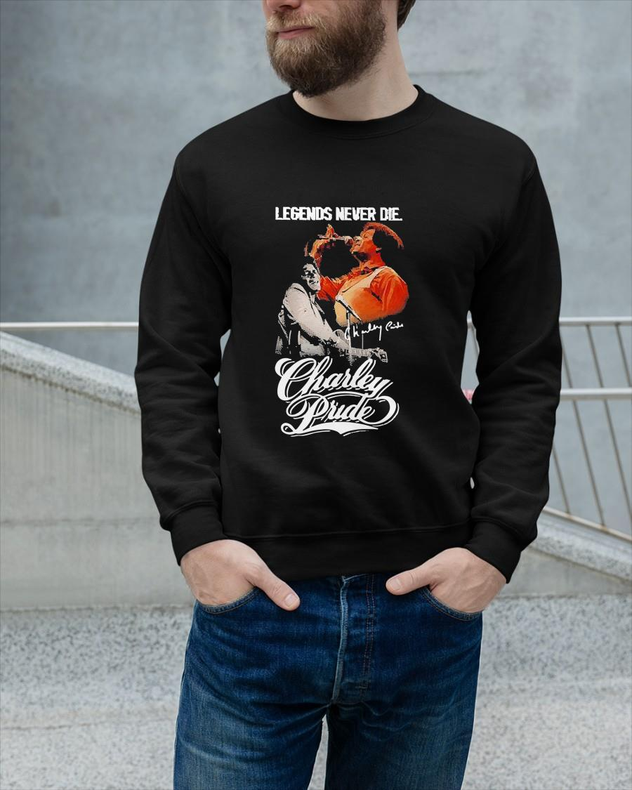 Legends Never Die Charley Pride Signature Sweater