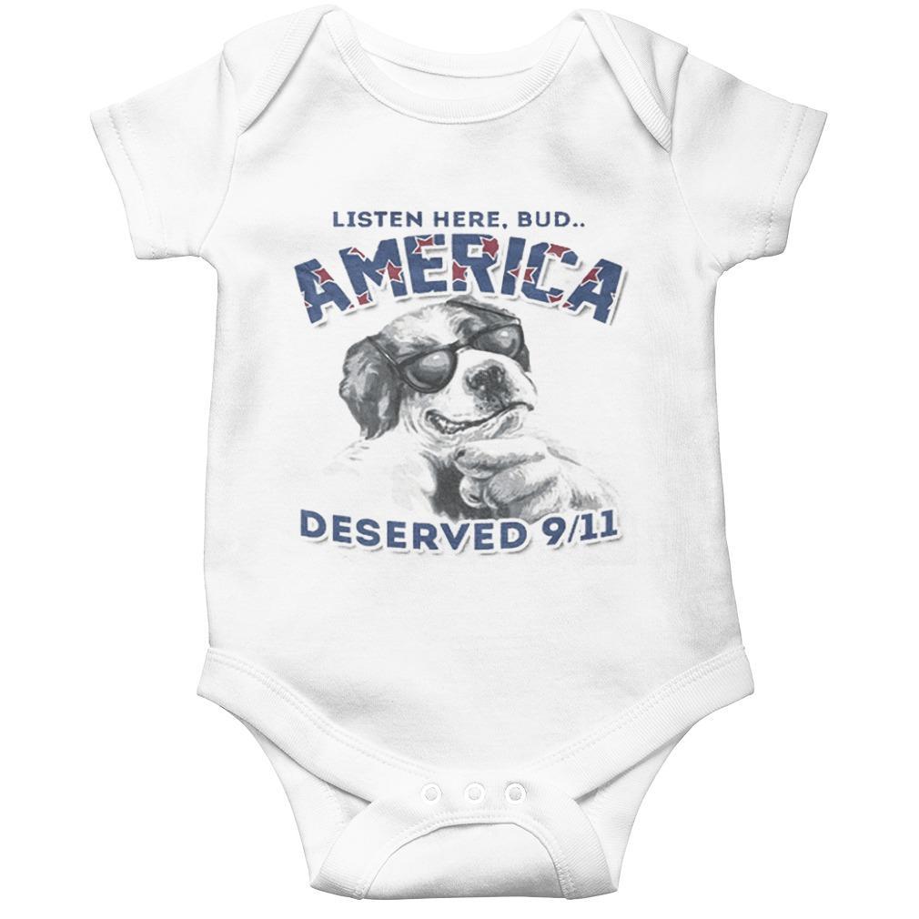 Listen Here Bud America Deserved 9-11 Longsleeve