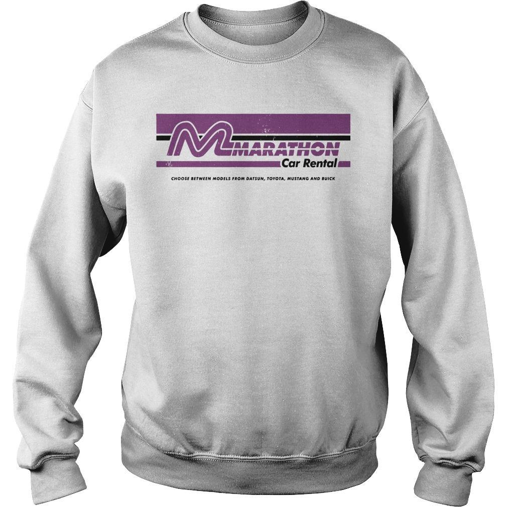 Marathon Car Rental Sweater