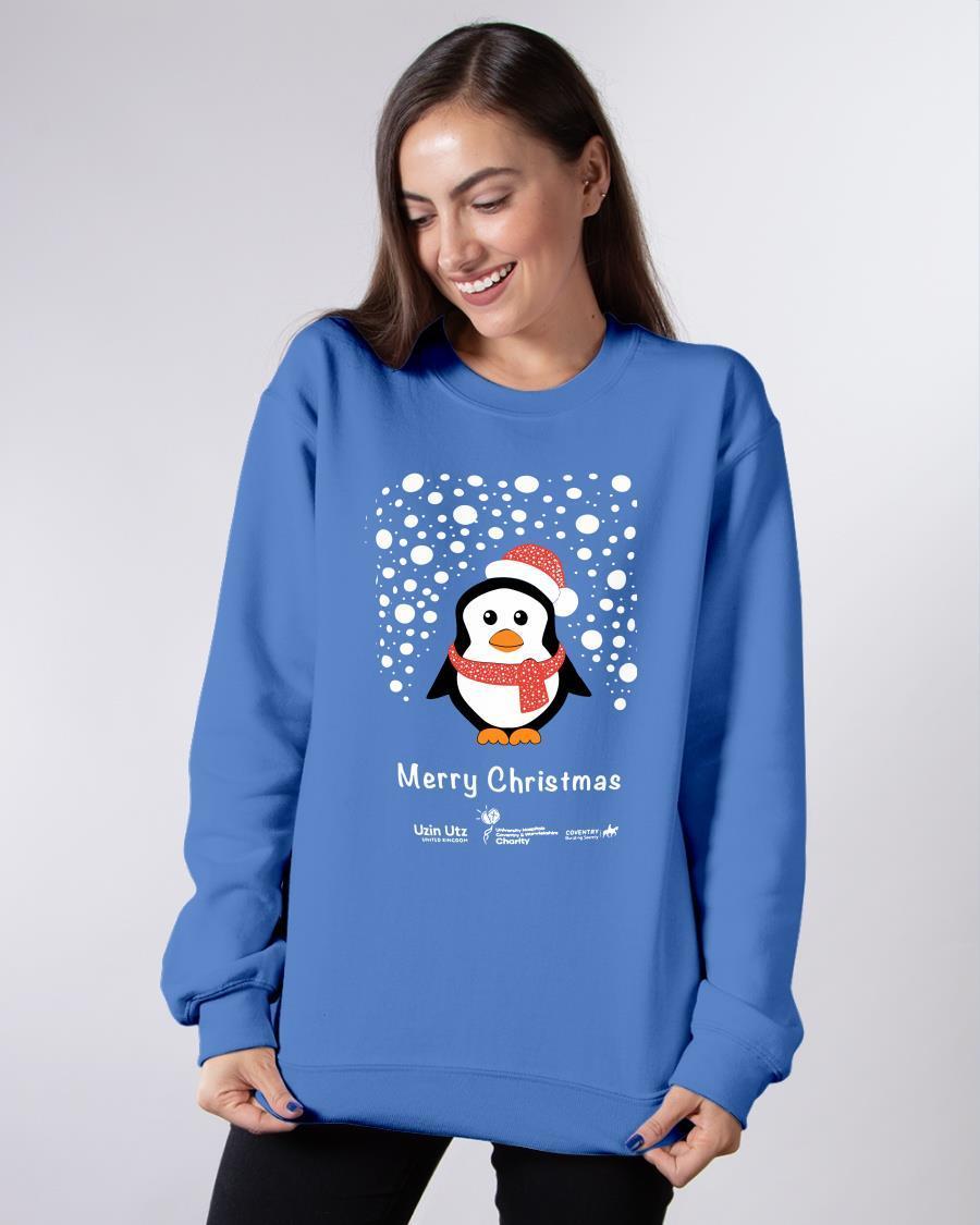 Margaret Keenan Penguino T Sweater