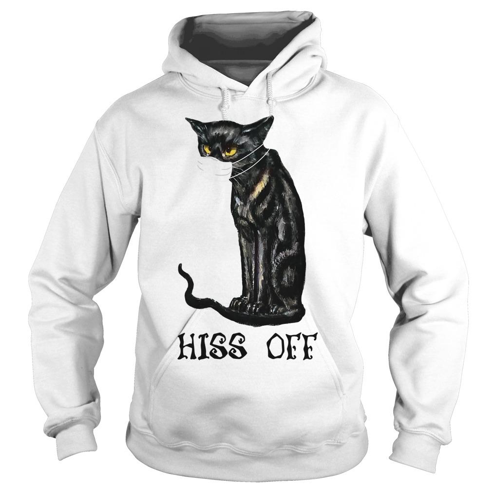 Mask Cat Hiss Off Hoodie