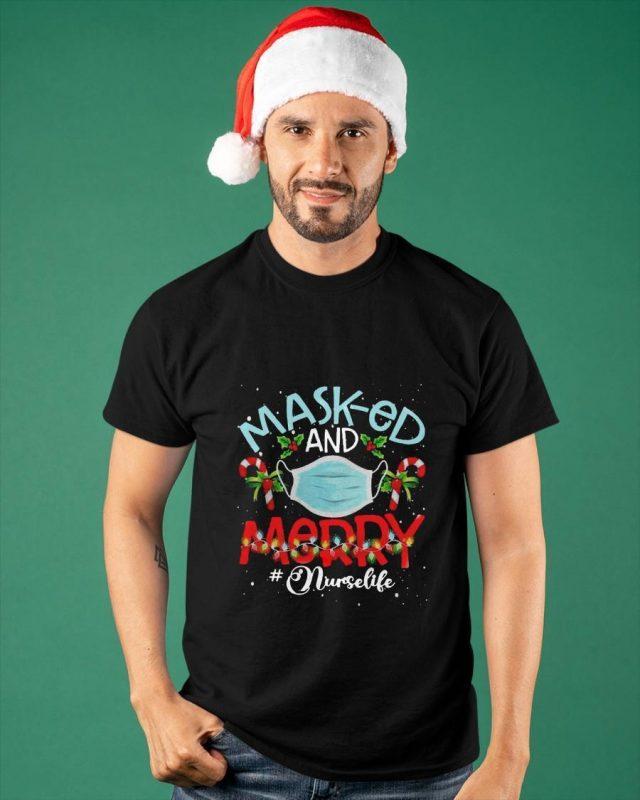 Masked And Mary Nurse Life Shirt