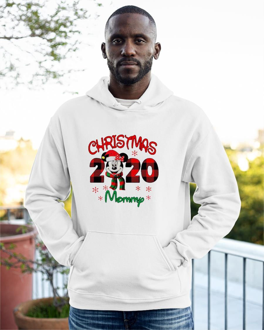 Mickey Mouse Merry Christmas 2020 Mommy Hoodie