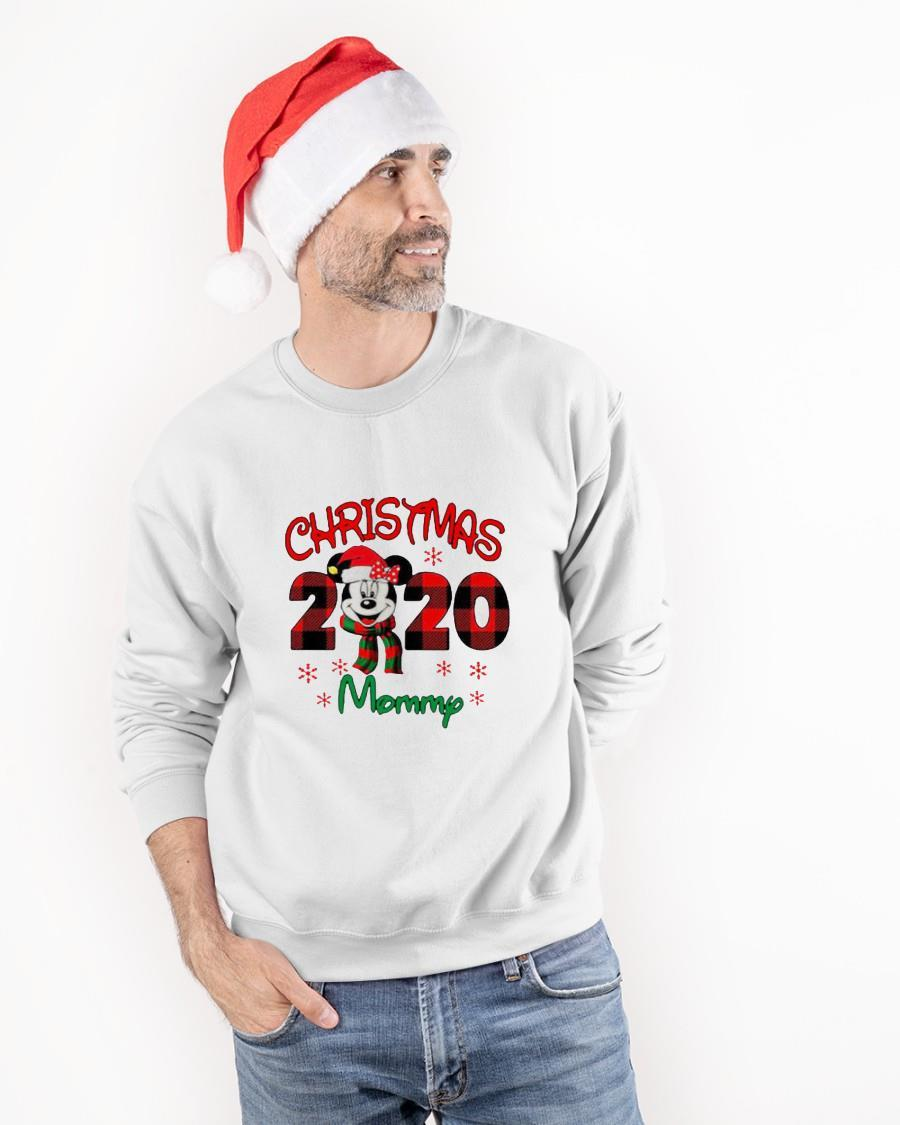 Mickey Mouse Merry Christmas 2020 Mommy Sweater