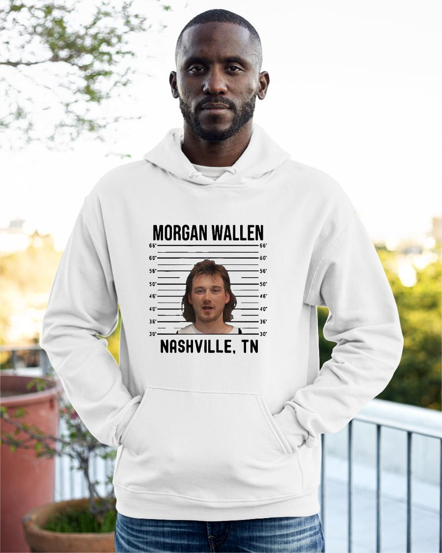 Mugshot Country Music Combs 2020 Morgan Wallen Nashville TN Hoodie