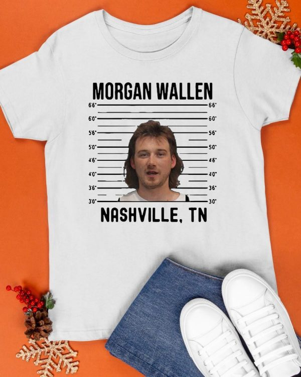 Mugshot Country Music Combs 2020 Morgan Wallen Nashville TN Shirt