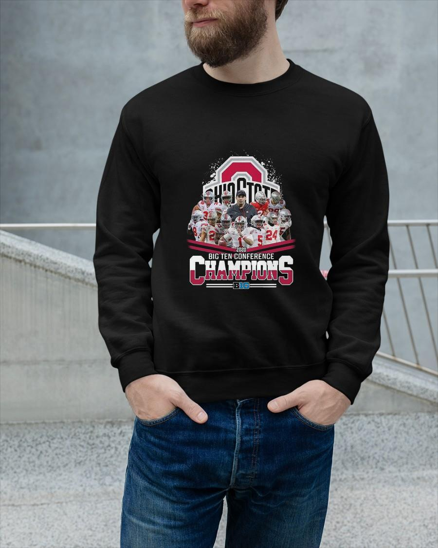 Ohio State 2020 Big Ten Conference Champions Longsleeve