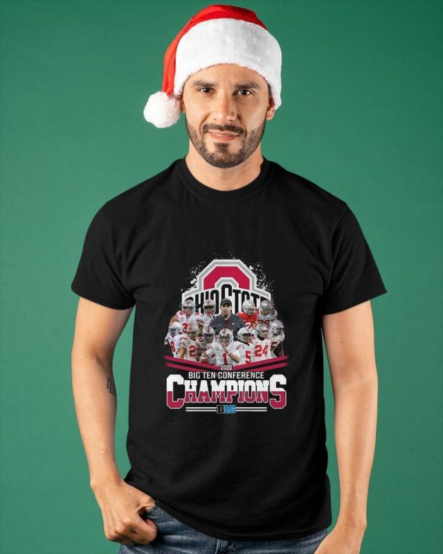 Ohio State 2020 Big Ten Conference Champions Shirt