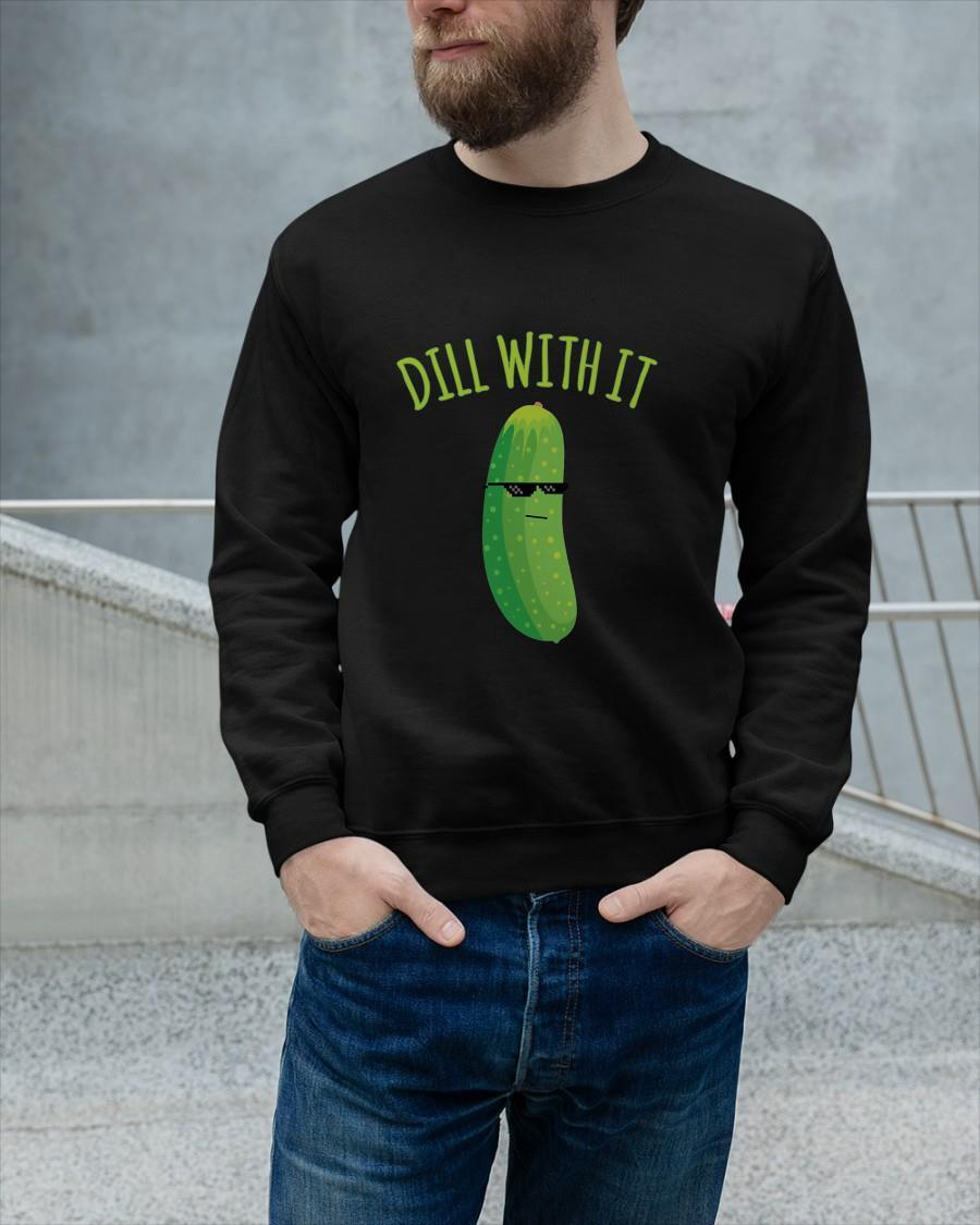Pickle Dill With It Sweater