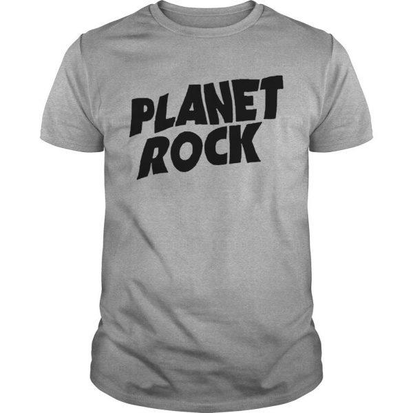 Planet Rock The Rock Black Shirt Picture