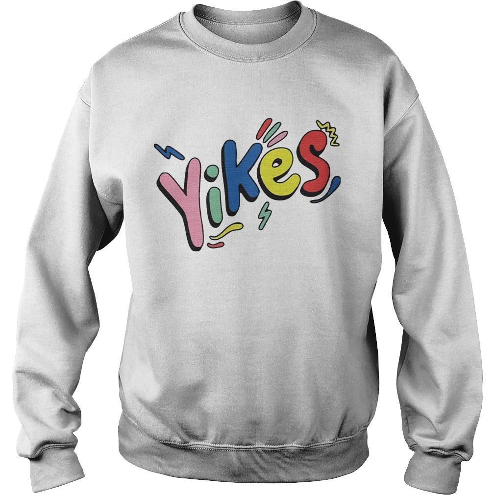 Rainbow Eddy Burback Yikes Sweater