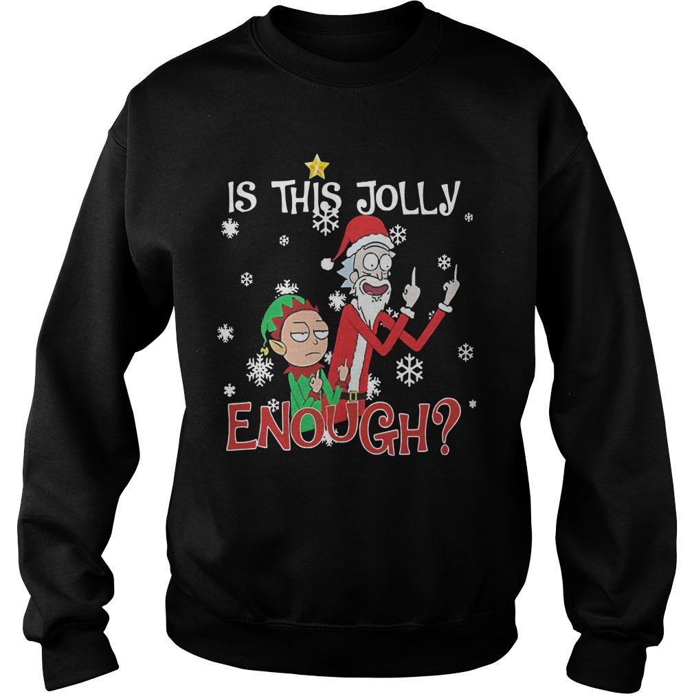 Rick And Morty Is This Jolly Enough Sweater