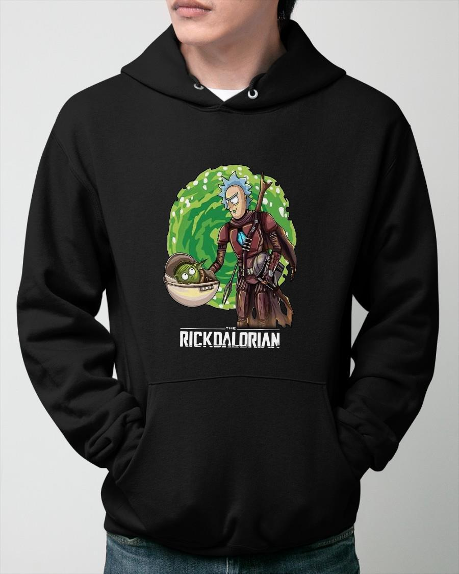 Rick And Morty The Rickdalorian Hoodie