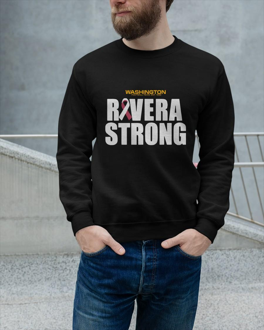 Rivera Strong Washington Football Team Longsleeve