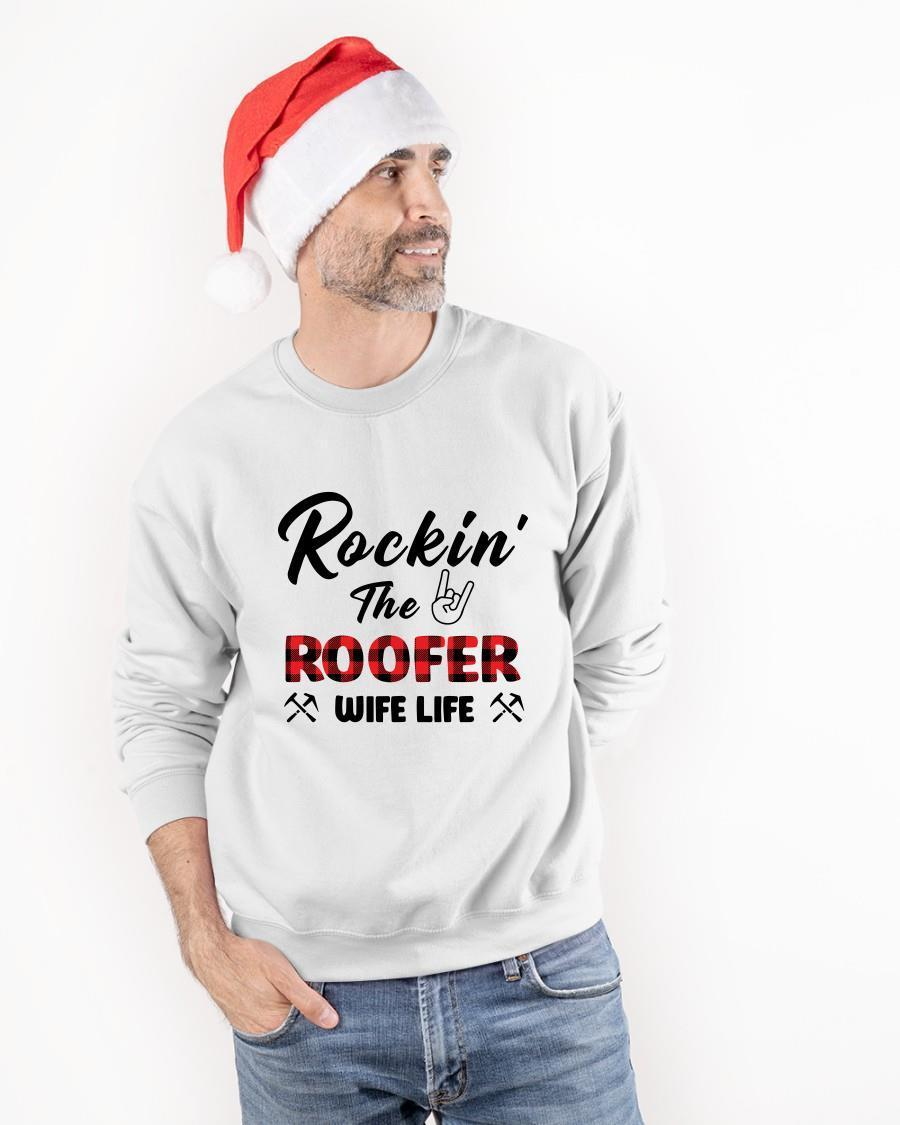 Rockin' The Roofer Wife Life Sweater