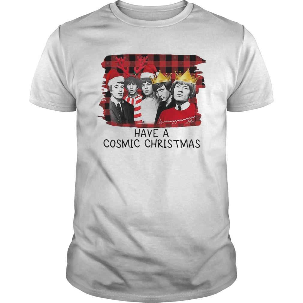 Rolling Stones Have A Cosmic Christmas Longsleeve