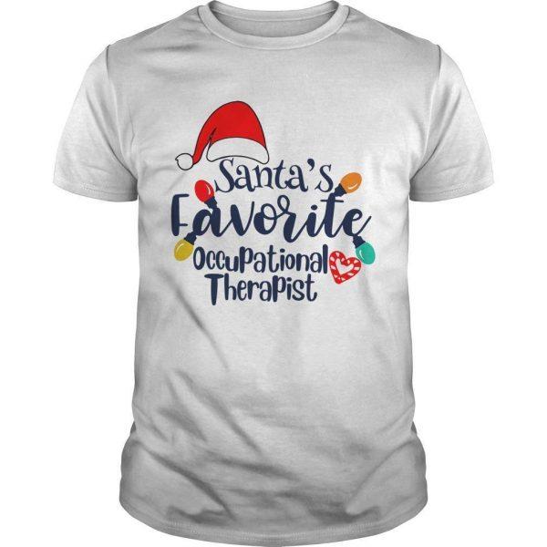 Santa's Favorite Occupational Therapist Shirt