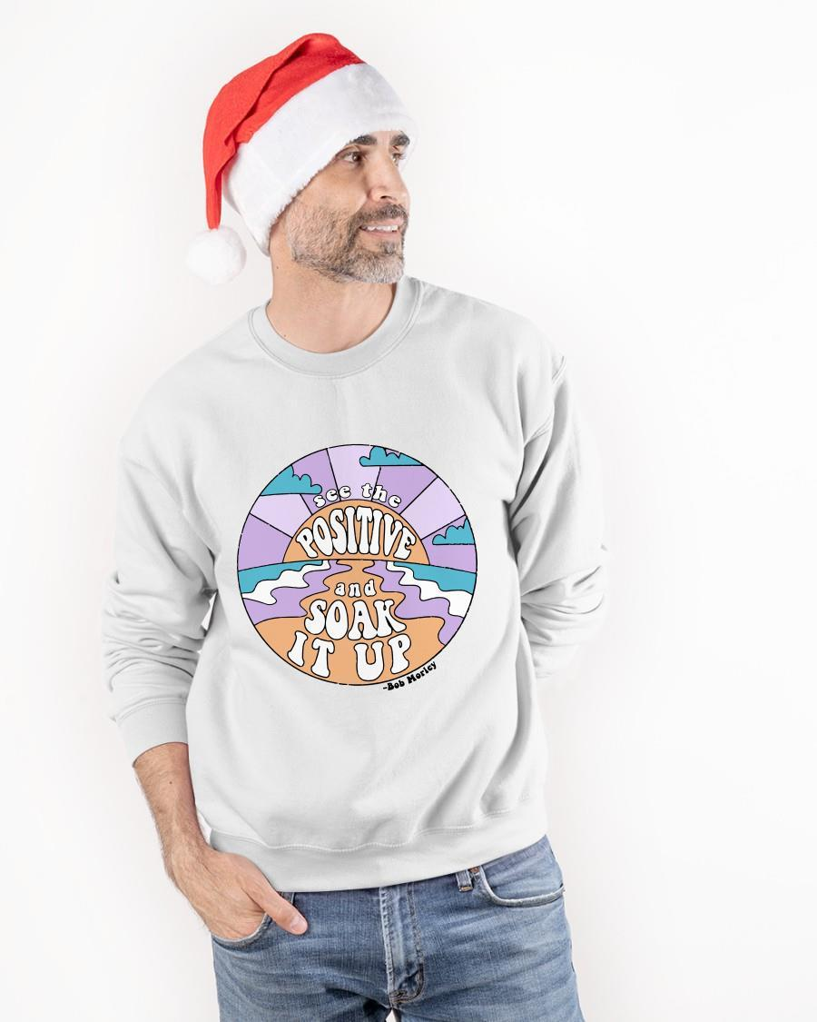 See The Positive And Soak It Up Sweater