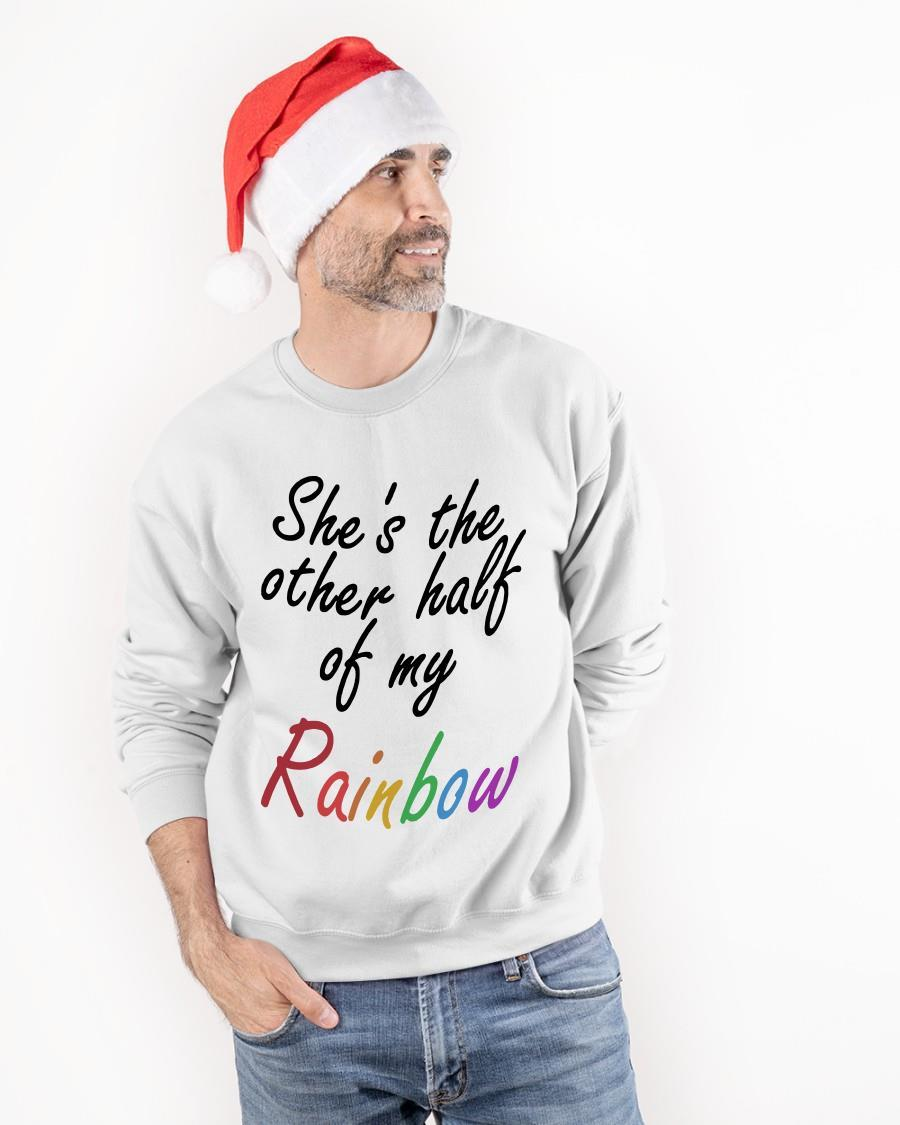 She's The Other Half Of My Rainbow Sweater