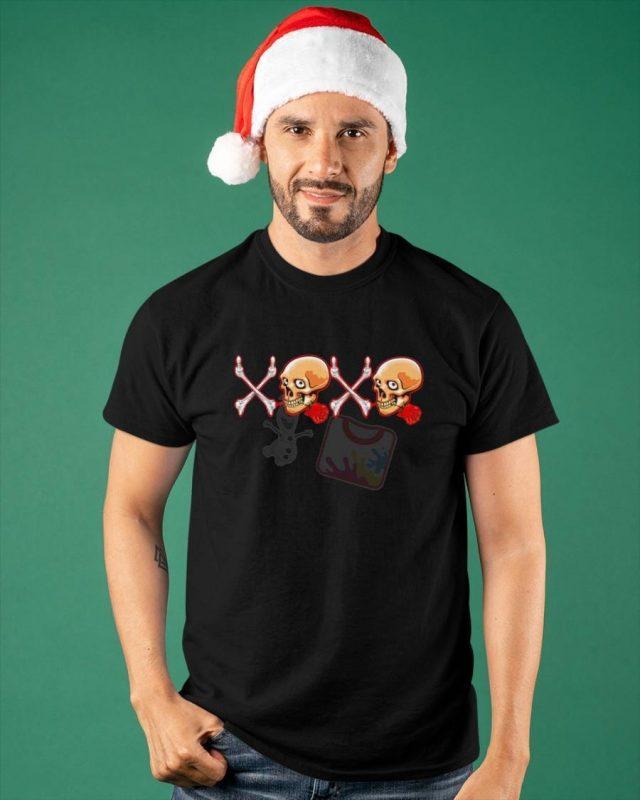 Skull Rose XOXO Shirt