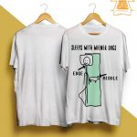 Sleeps With Wiener Dogs Edge Middle Shirt