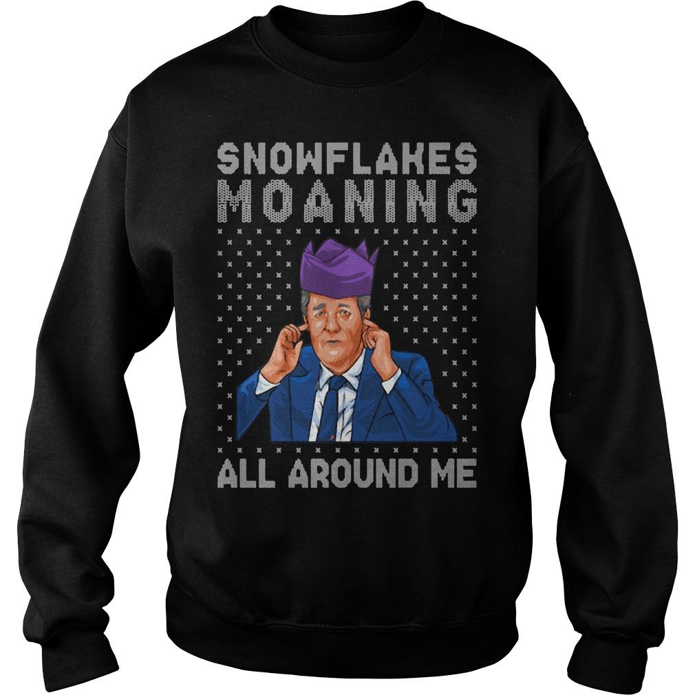 Snowflakes Moaning All Around Me Sweater