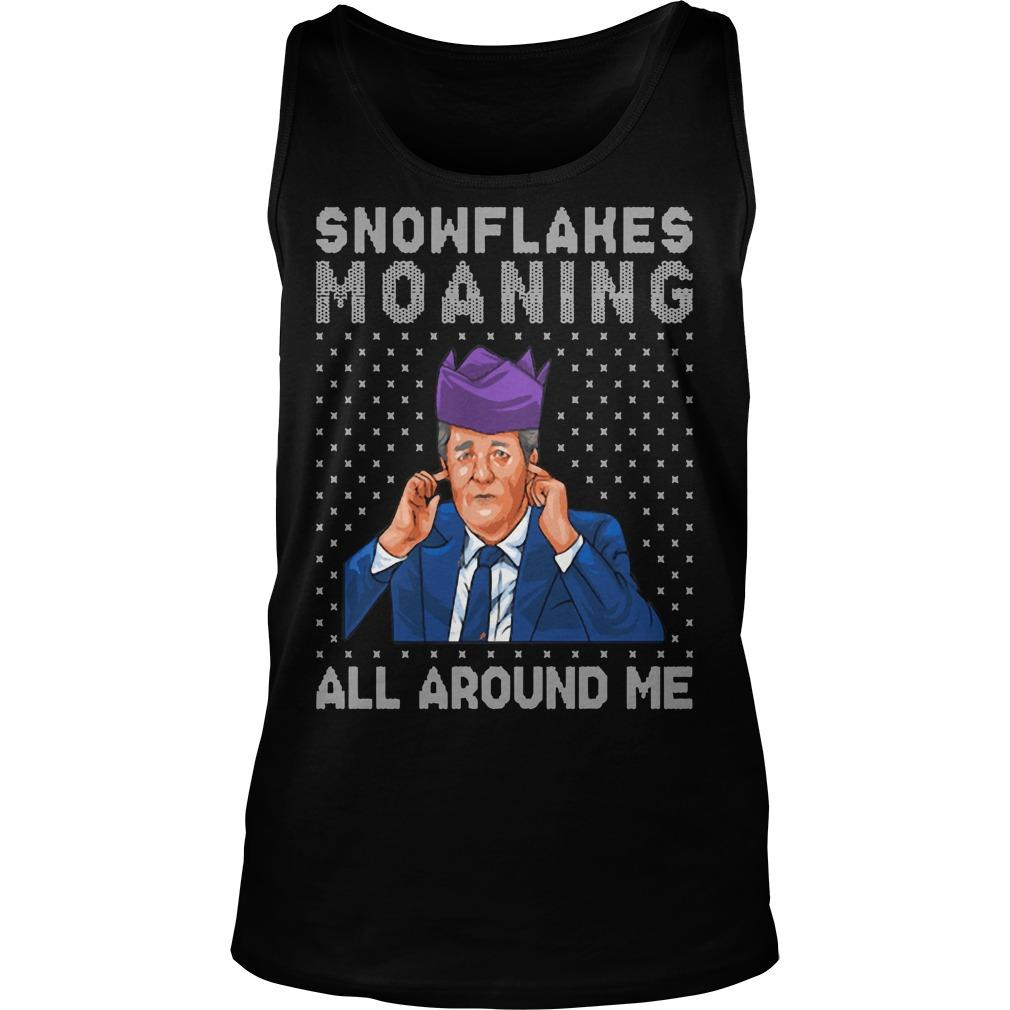Snowflakes Moaning All Around Me Tank Top