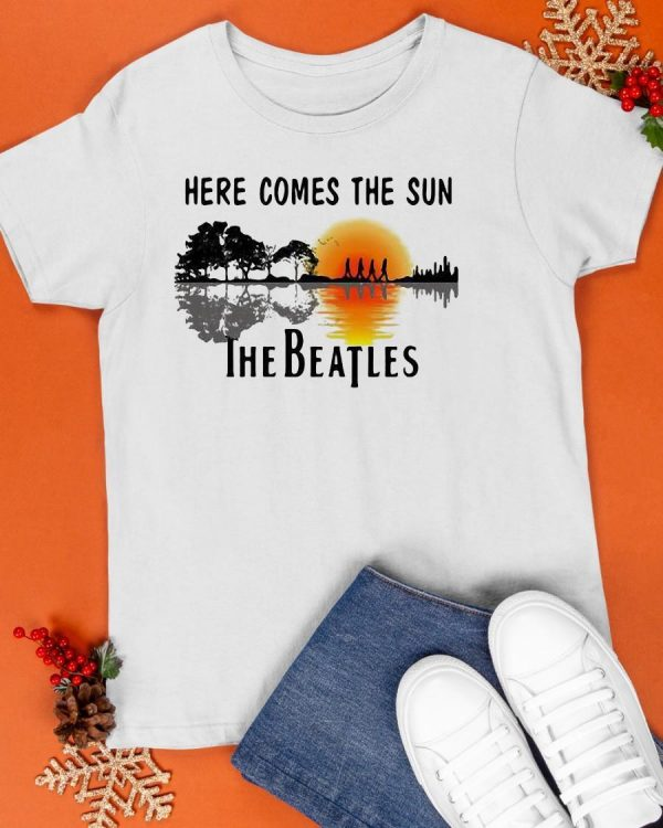 Sunset Here Comes The Sun The Beatles Shirt