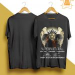 Supernatural 2005 2021 Thank You For The Memories Shirt