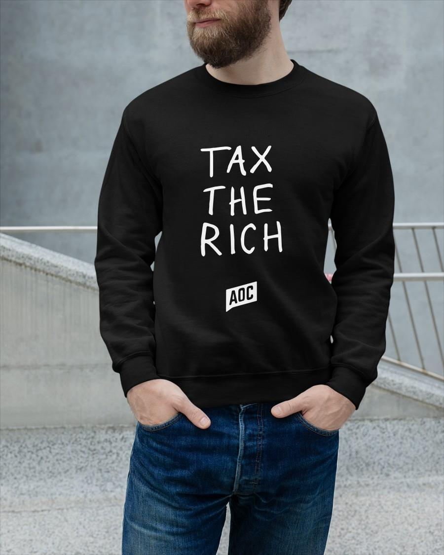 Tax The Rich Aoc T Sweater