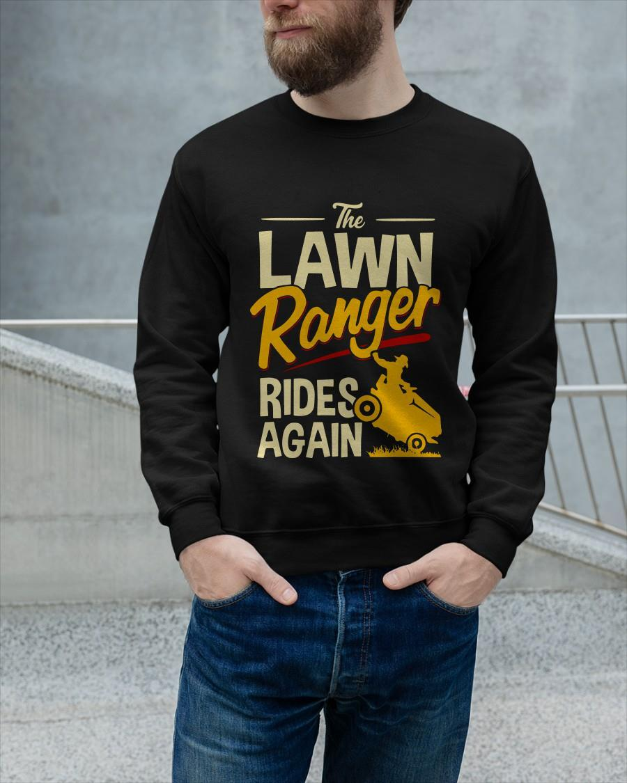 The Lawn Ranger Rides Again Sweater