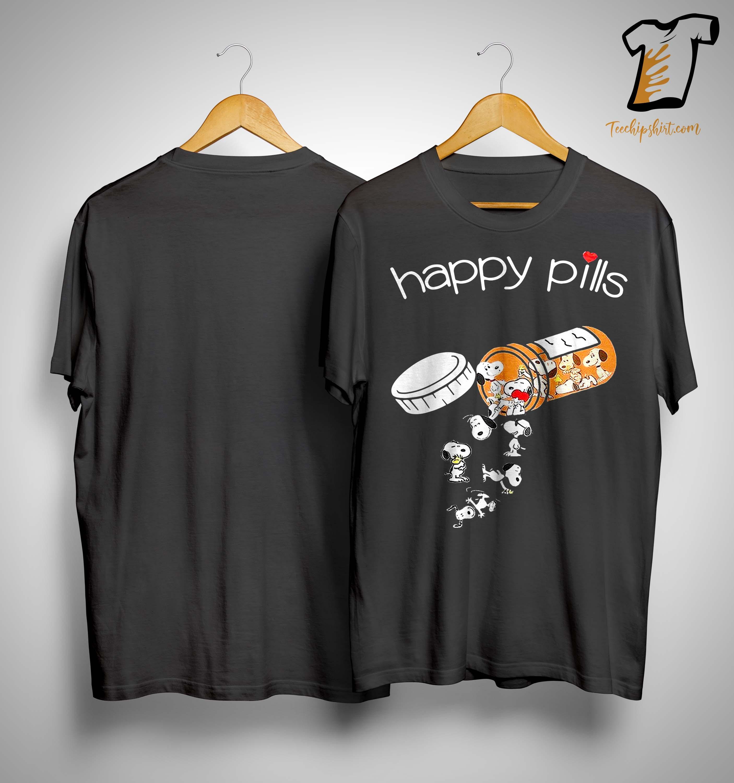 The Peanuts Snoopy Happy Pills Shirt