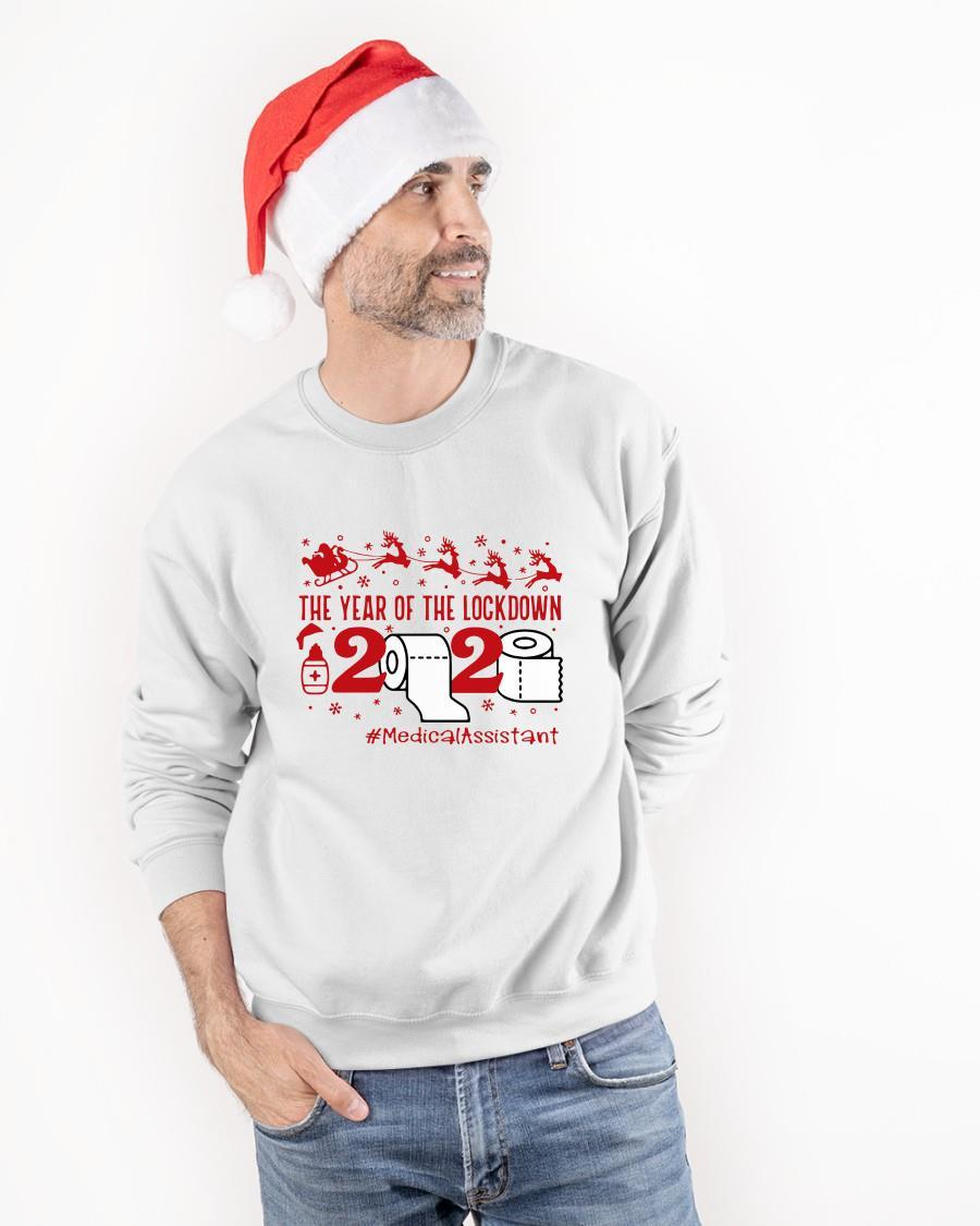 The Year Of The Lockdown 2020 Medicalassistant Sweater