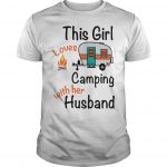 This Girl Who Loves Camping With Her Husband Shirt