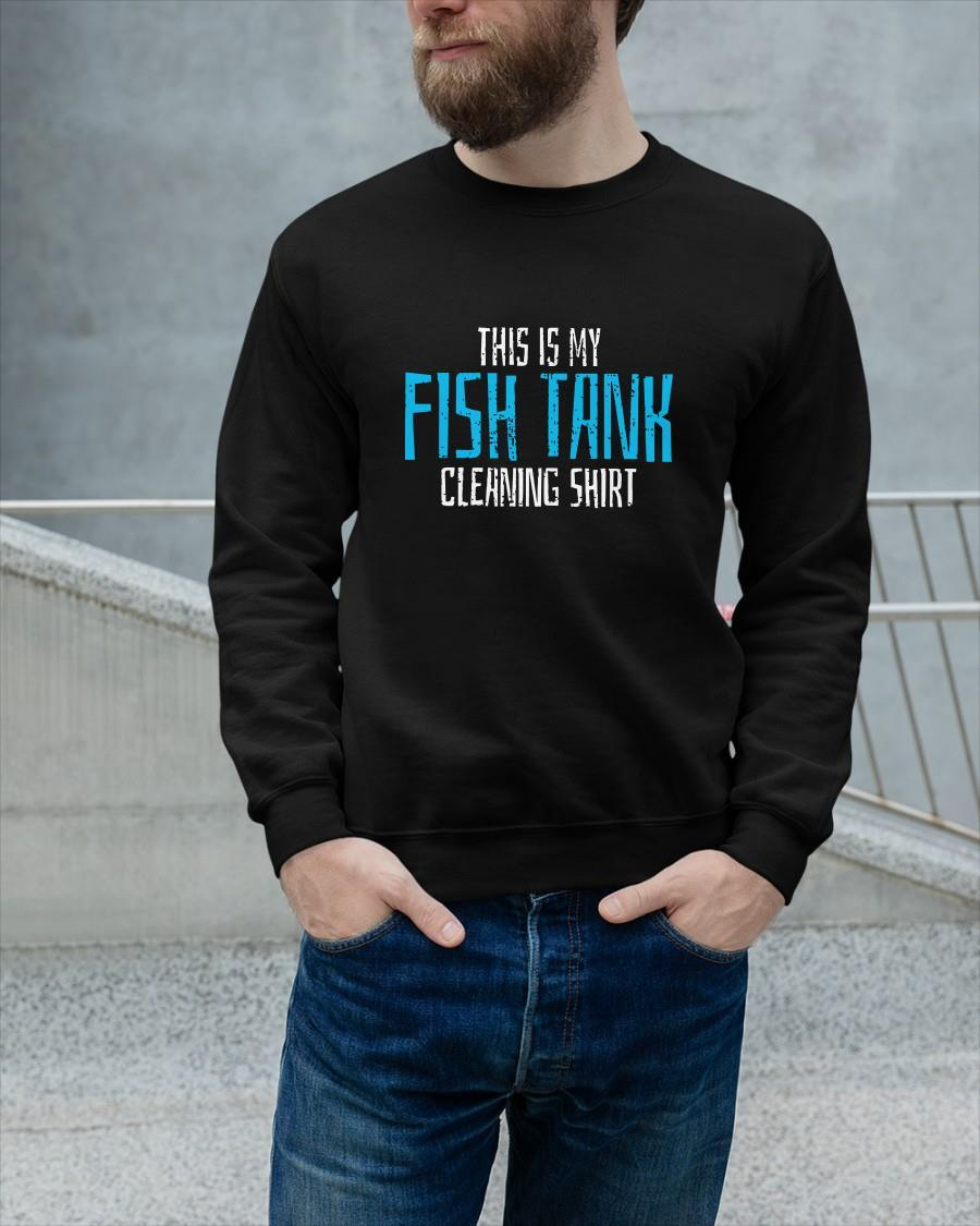 This Is My Fish Tank Cleaning Longsleeve