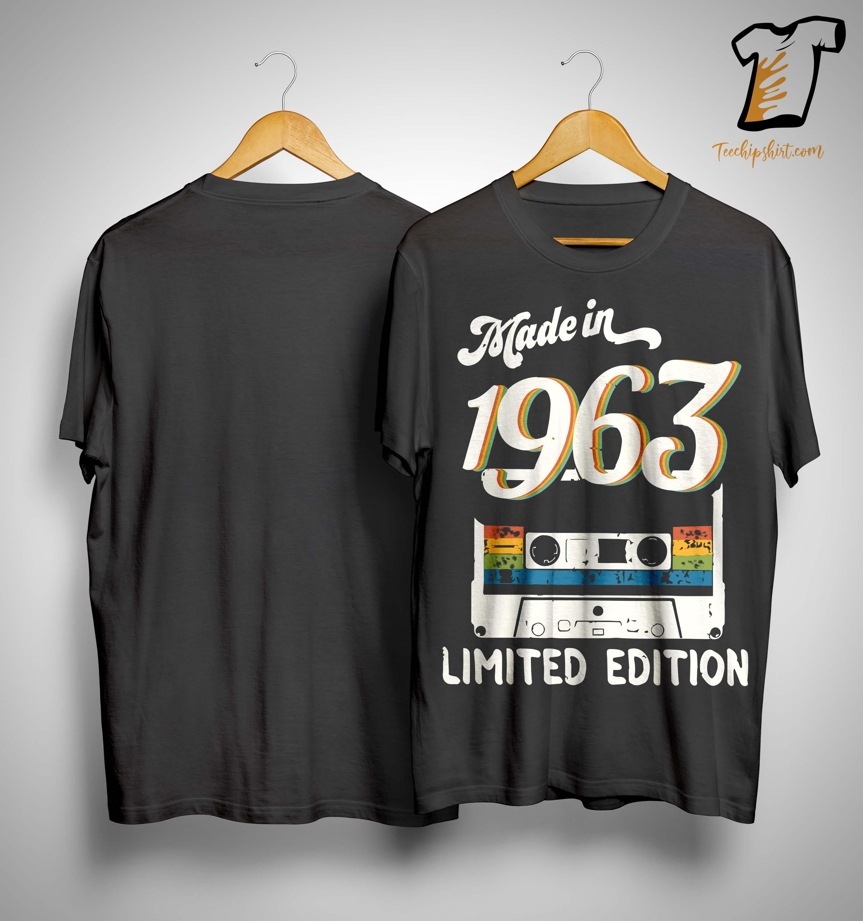 Video Tape Made In 1963 Limited Edition Shirt