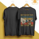 Vintage Best Buckin' Papa Ever Shirt