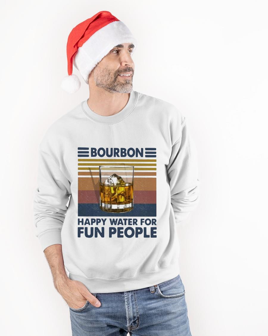 Vintage Bourbon Happy Water For Fun People Sweater