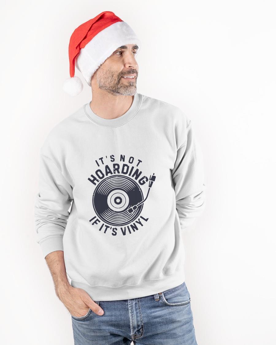 Vinyl Record It's Not Hoarding If It's Vinyl Sweater
