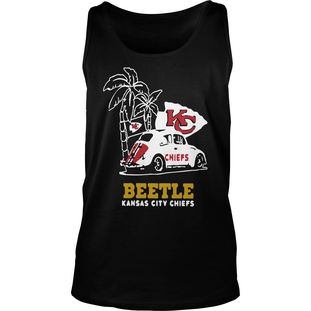 Volkswagen Beetle Kansas City Chiefs Tank Top
