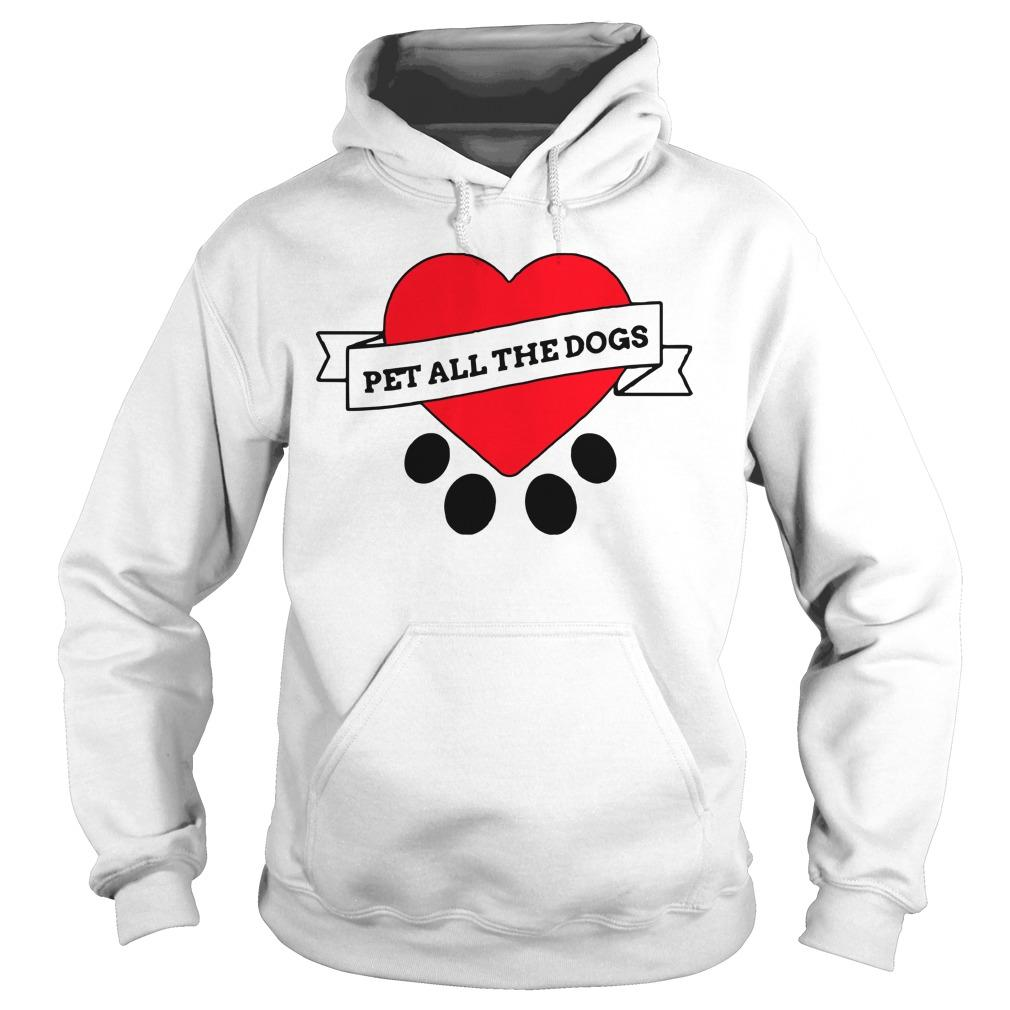 We Rate Dogs Pet All The Dogs Hoodie